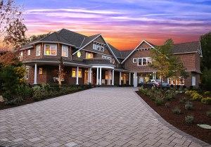 The Hamptons shingle style exterior
