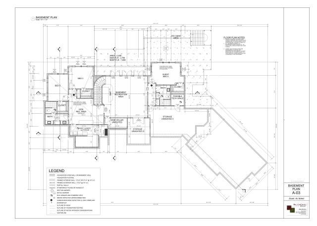 Final Design - Lower Level Floorplan