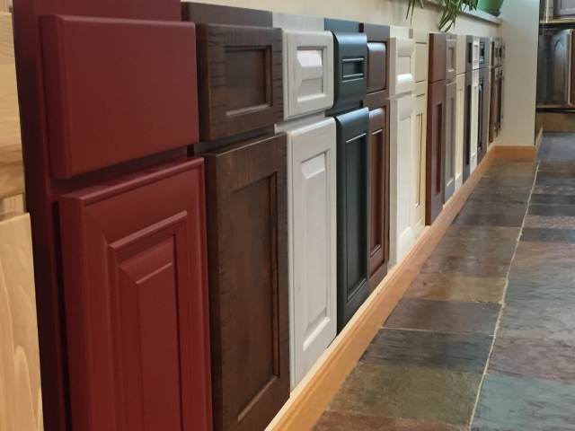 Tons of door options to choose from at Canyon Creek Cabinetry.