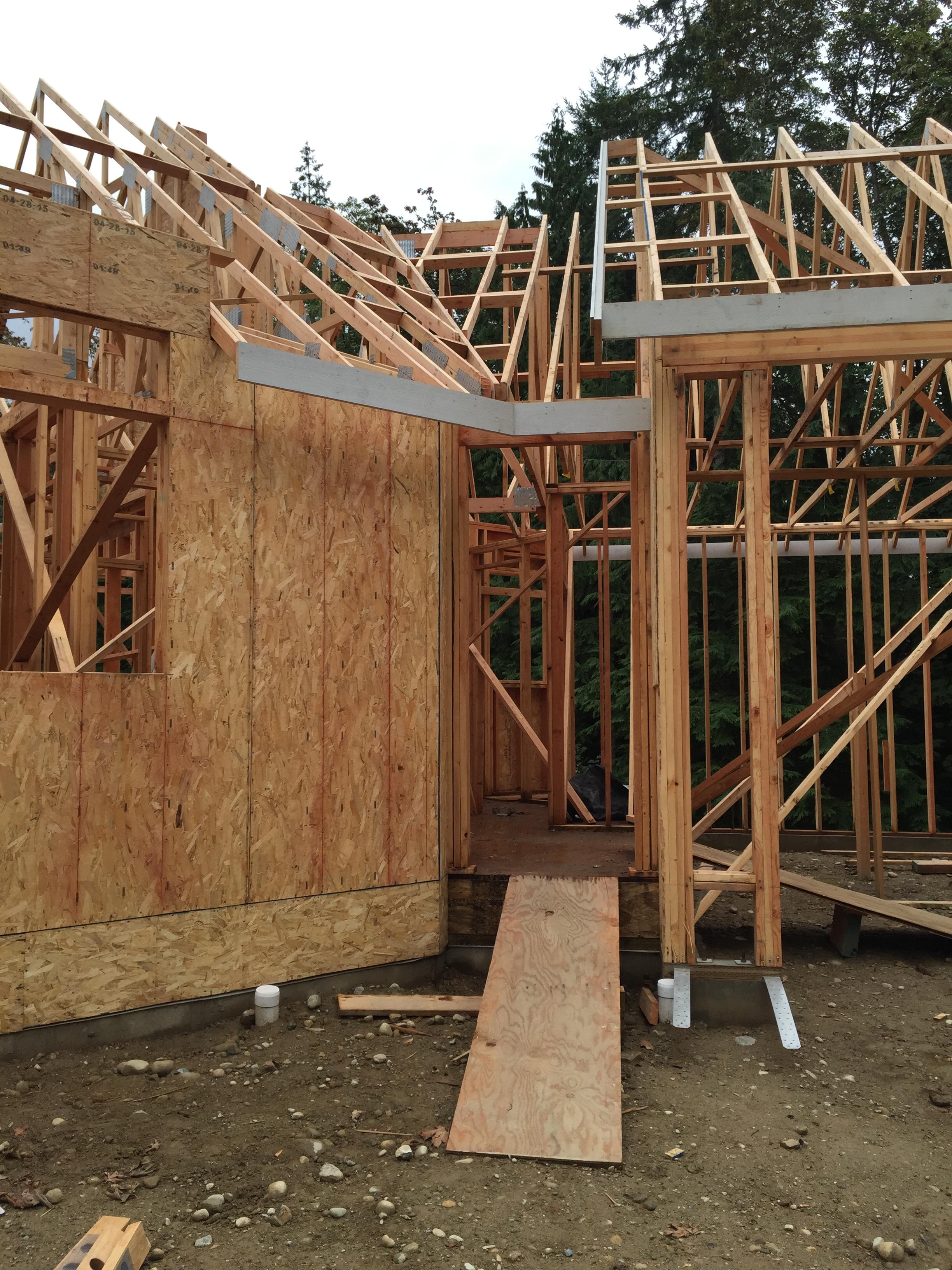 Temporary Construction Doors : September coastal hues