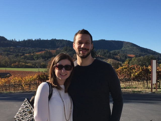 A little wine tasting in Sonoma is the family's tradition in lieu of black friday! I'll take that any day!!